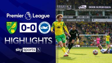 Norwich earn point against Brighton