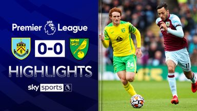 Burnley, Norwich play out stalemate