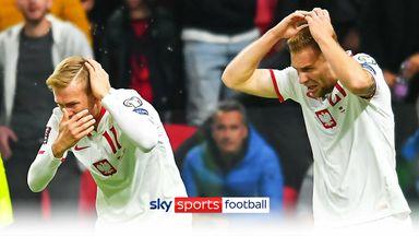 Albania vs Poland halted as missiles thrown
