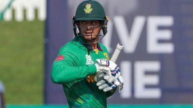 Bizarre dismissal for De Kock at T20 World Cup!