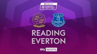 WSL: Reading 0-3 Everton