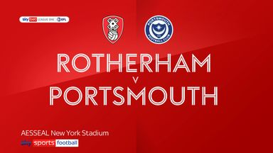 Rotherham 4-1 Portsmouth