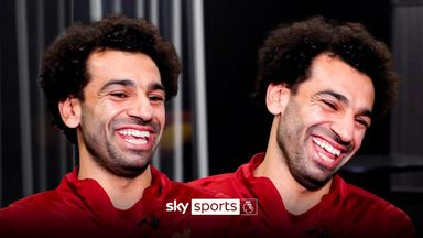 Salah on his desire to be 'best in the world' at Liverpool
