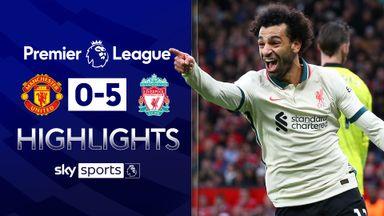 Salah hits hat-trick as Liverpool thump Man Utd