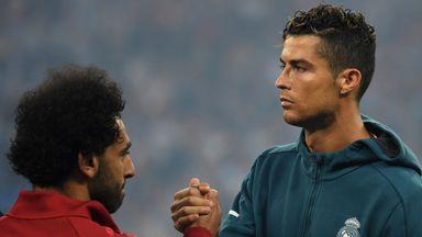 How do Salah and Ronaldo compare?