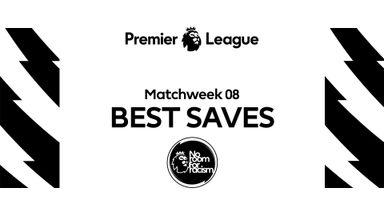 PL Best Saves MW8: Mendy, Ramsdale, de Gea