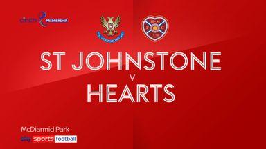 St Johnstone 1-1 Hearts