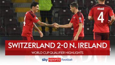 Switzerland 2-0 Northern Ireland