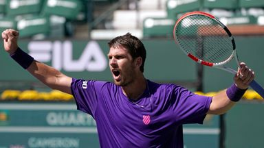 Norrie through to semis at Indian Wells
