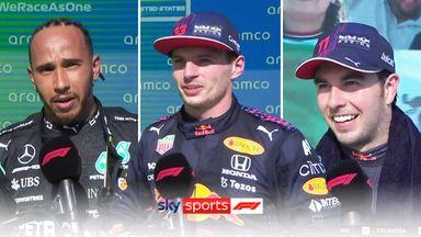 United States GP: Top three