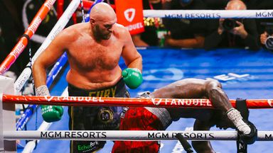 'Fury the king of the heavyweight division'
