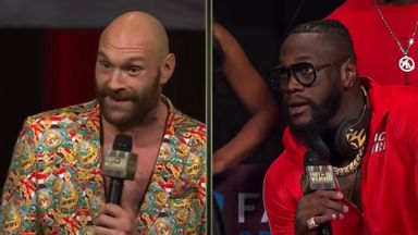 Fury, Wilder clash in heated press conference