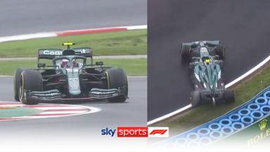 Vettel's slick tyre shambles!