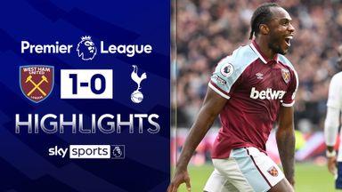 Antonio hits winner as West Ham top Spurs