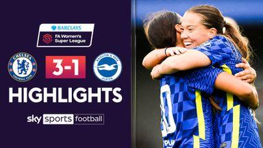 WSL: Chelsea 3-1 Brighton