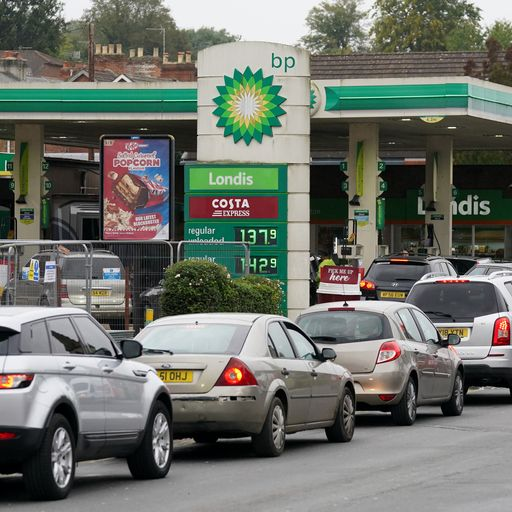 26% of member petrol stations still empty, retail group warns, as government insists crisis will end