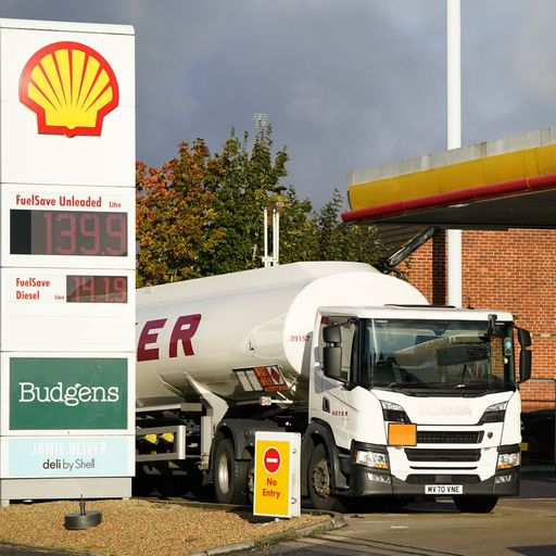 Petrol prices reach highest point since 2013 as shortages continue