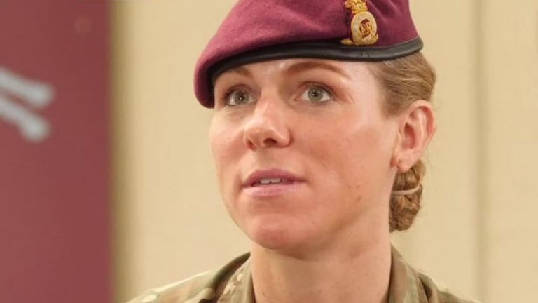 Captain Rosie Wild and Sergeant Ashleigh Fenwick have shared their experiences of helping out people on the ground in Kabul, highlighting the importance of women in military and their vital roles.