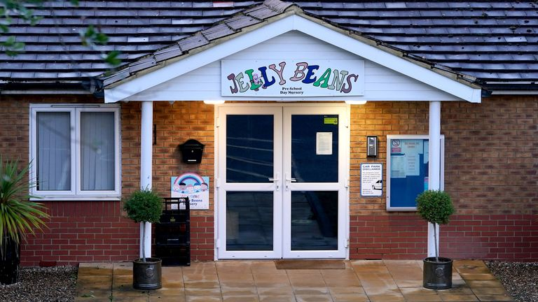 A view of Jelly Beans day nursery in Ashford, Kent, which has been closed after a child died following a medical emergency. Picture date: Friday October 1, 2021.