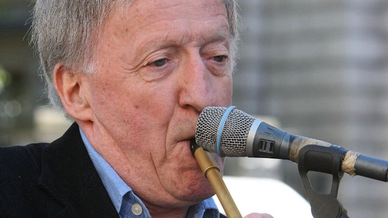 File photo dated 22/9/2007 of Paddy Moloney, founding member of The Chieftains, who has died at the age of 83. The Dublin musician played a key role in the revival of traditional Irish folk music. Issue date: Tuesday October 12, 2021.
