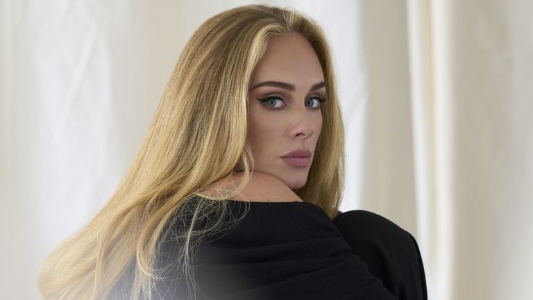 Undated handout photo issued by Columbia Records of singer Adele who has released comeback single Easy On Me, her first track in six years, which is taken from her upcoming album, 30, which will be released in November. Issue date: Friday October 15, 2021.