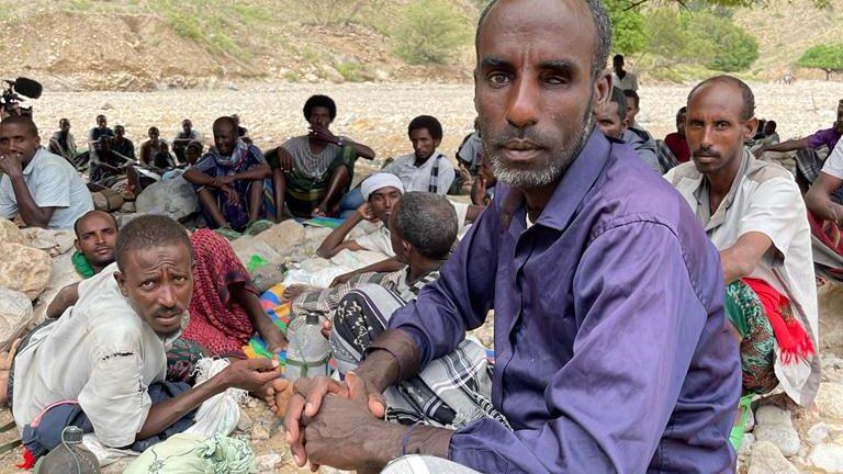 Displaced people in Afar, Ethiopia