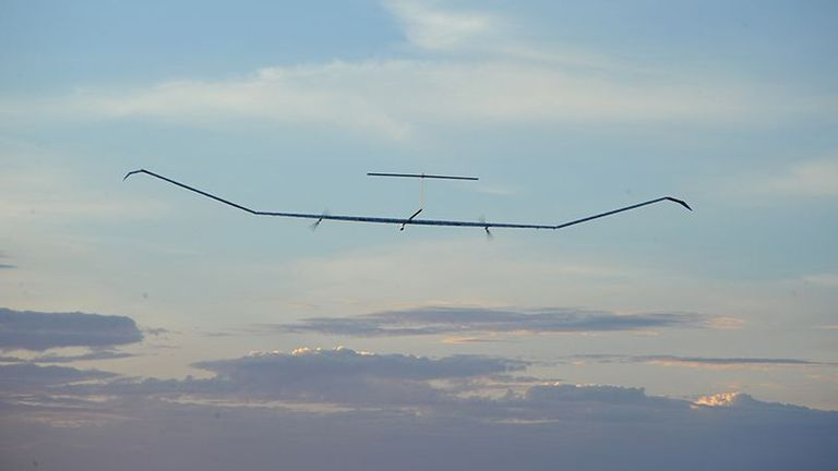 The solar-powered Zephyr aircraft could soon be spending up to six months in the air at a time
