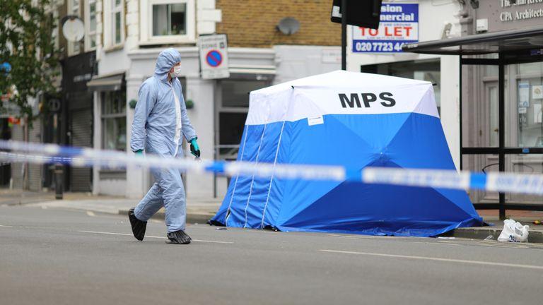 The shooting happened in Shepherd's Bush, west London, in June last year