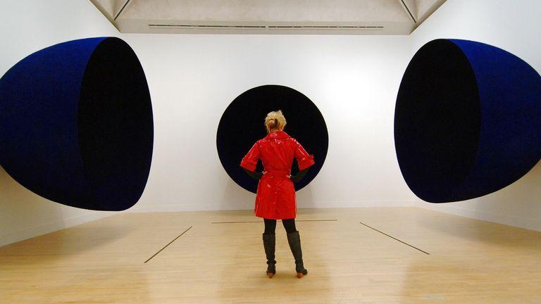 Anish Kapoor's Untitled won the 1991 Turner Prize