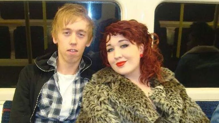 Anthony Walgate, one of the victims of serial killer Stephen Port, with his friend China Dunning