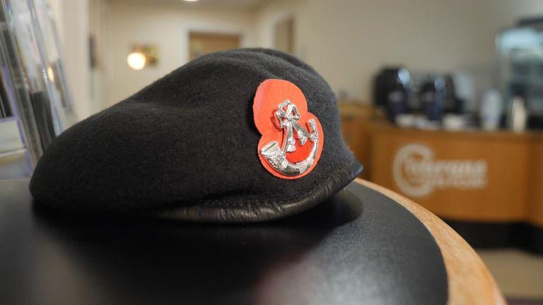 Army veteran's cap