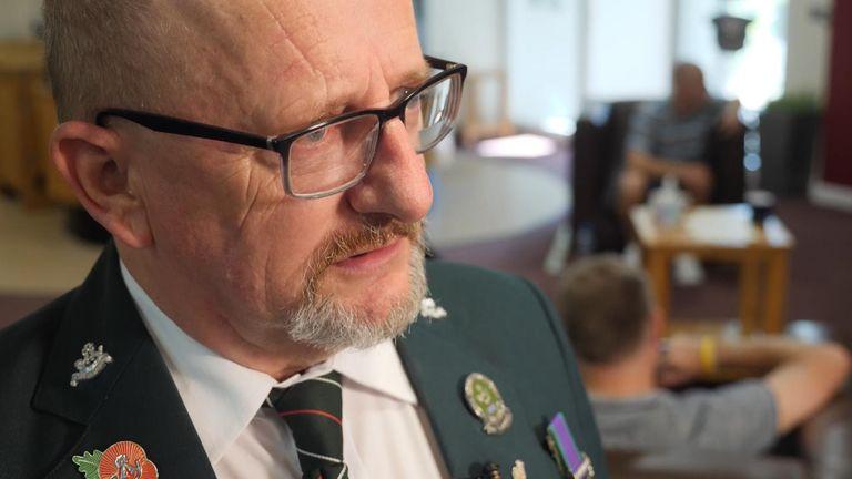 Army veteran Paul Chadwick, 64