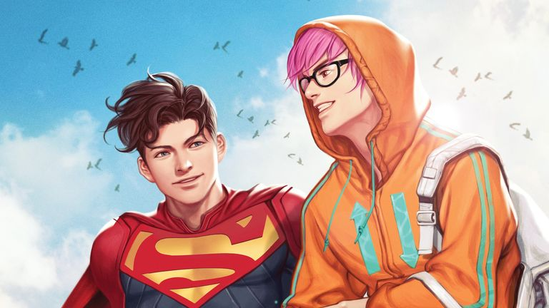 The comic will be available next month. Pic: DC