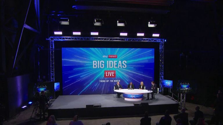 Sky's Ian King is joined by fellow presenters Trevor Phillips, Sam Washington and Economics Editor Ed Conway to reflect on the issues of the day on Big Ideas Live - and look ahead to the big events in the rest of the year - namely COP26.