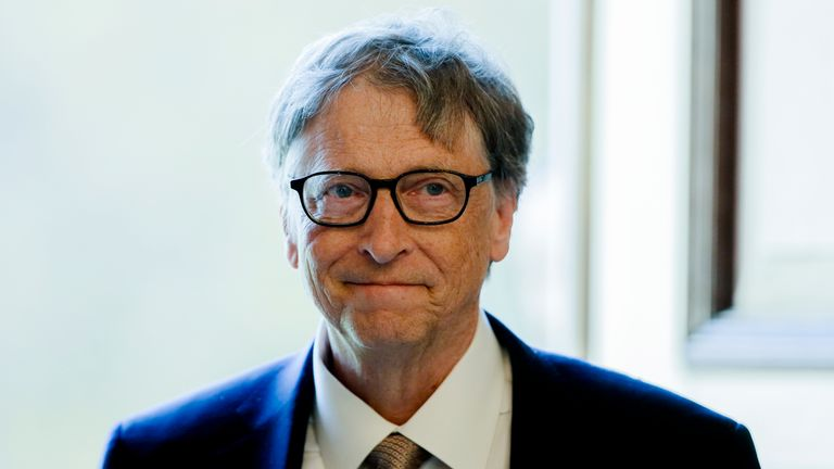 A representative for Bill Gates described the claims as 'false, recycled rumours'. Pic: AP