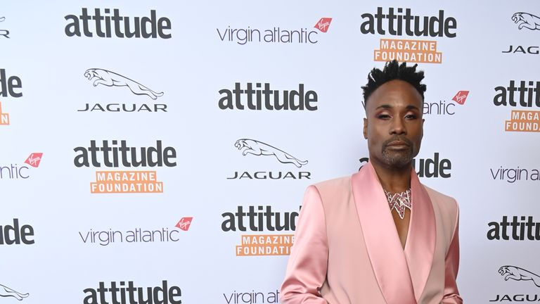 Billy Porter on the red carpet