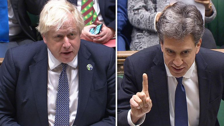 Comp Ed Miliband Boris Johnson