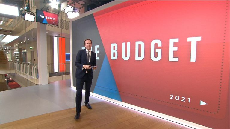 Chancellor Rishi Sunak to give autumn budget from 12.30pm on Wednesday.