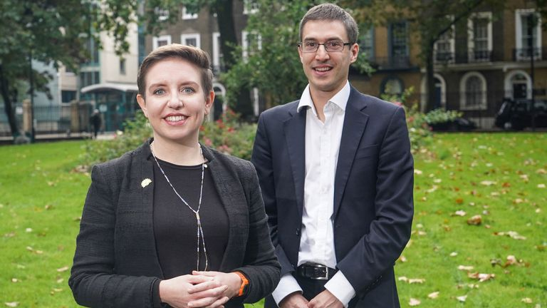 Carla Denyer and Adrian Ramsay have been voted in as new Green Party co-leaders