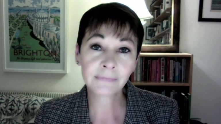 Caroline Lucas says protests can be both 'illegal and legitimate'