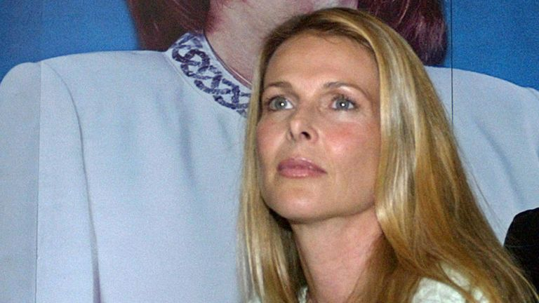 US actress Catherine Oxenberg
