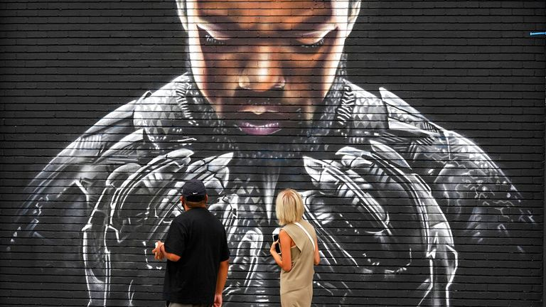 Boseman was best known for being in Black Panther. Pic: AP