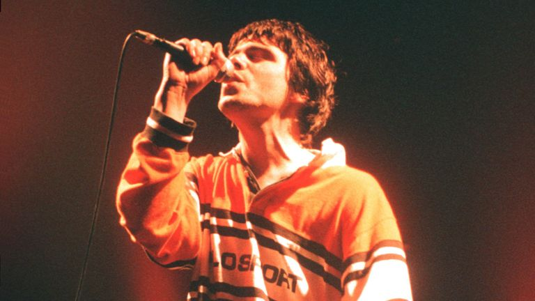 Tim Burgess of The Charlatans pictured on stage in the 1990s. Pic: Ian Dickson/Shutterstock