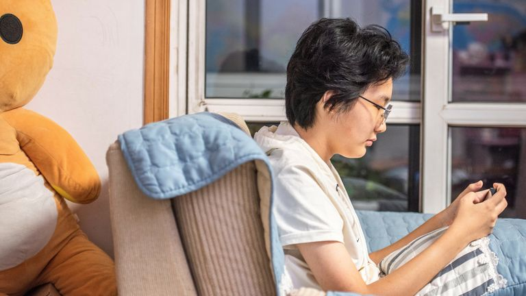 Huang Chong is among millions of under-18s who are only allowed to play three hours of online games per week in China