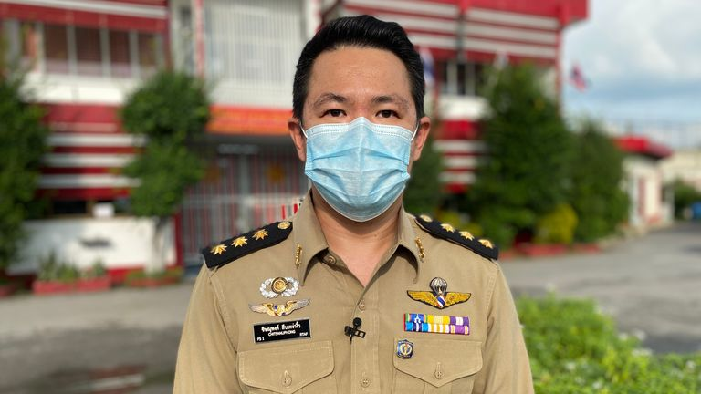 Jail medic Chitsanuphong Saublaongiw believes the traditional tablet successfully eased mild symptoms