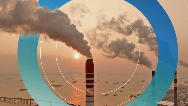 A coal-fired power plant in eastern China's Jiangsu province. Pic: AP