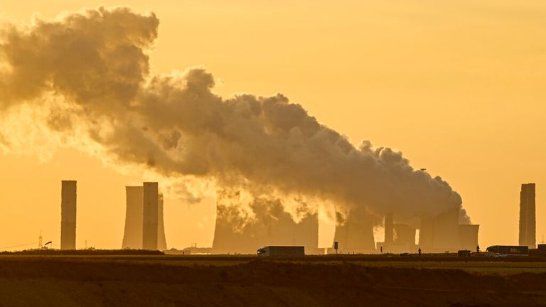 Germany still generates most of its power from coal. Pic: AP