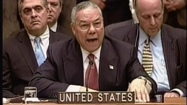 Colin Powell in 2003
