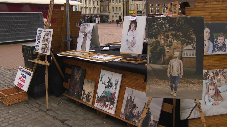 Dainis Vanko recently lanched a picture framing business