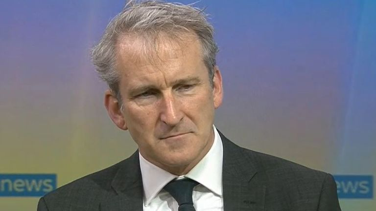 Damian Hinds denies that the business secretary 'makes things up'